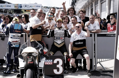 Albert Arenas saldrá tercero mañana | Foto: Ángel Nieto Team