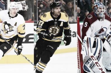 Malkin, Bergeron y Bernier son las tres estrellas elegidas por la NHL para el mes de enero (Fuente: NHL)