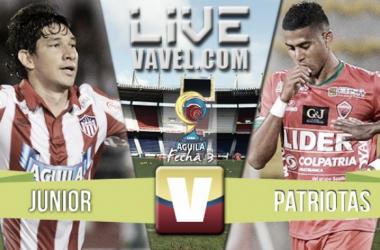 Jorge Aguirre y un gol agónico para la victoria de Junior