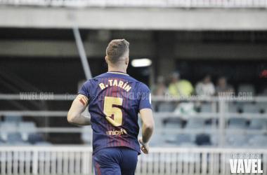 Rodrigo Tarín con el Barça B esta temporada. Foto: Noelia Déniz, VAVEL