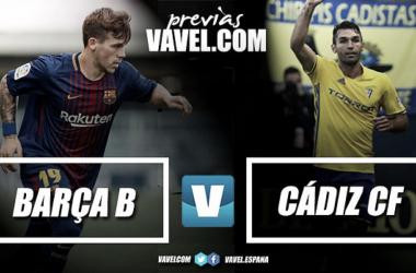 Previa Barça B - Cádiz CF. Fotomonataje: VAVEL