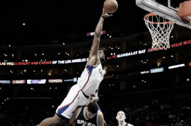 Em noite de DeAndre Jordan, Clippers vence Spurs no Staples Center