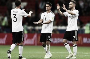 Foto: Selección Alemana.
