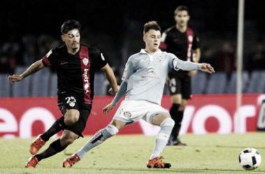 Celta - Almería: puntuaciones del Celta, dieciseisavos de final de la Copa del Rey