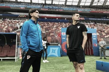 """Lovren: """"Estar en semifinales es un éxito, pero queremos más"""""""