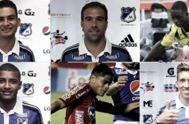 Estos son los refuerzos de Millonarios hasta el momento. IMAGEN: Millonarios FC.