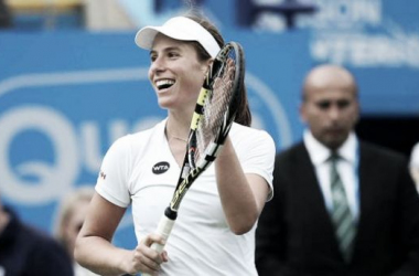Johanna Konta's victory means there is one Brit in the second round of the Ladies' draw at Flushing Meadows. Photo source: ESPN