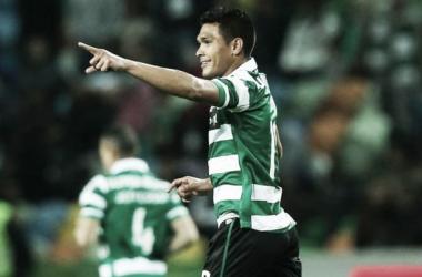 Teo Gutiérrez mantiene al Sporting en el liderato
