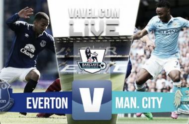 Resultado Everton - Manchester City en la Premier League 2015 (0-2)