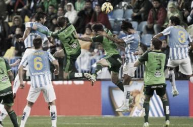 Resultado Málaga - Celta de Vigo en Liga 2015: síndrome post-Augusto (2-0)