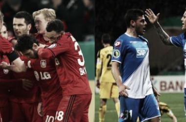 Leverkusen, con apuros, Hoffenheim y Friburgo ya están en cuartos