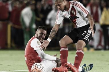 El partido tuvo pocas situaciones de gol. Foto: Prensa River.