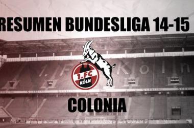 Resumen temporada2014/2015del Colonia:cornamenta con galones