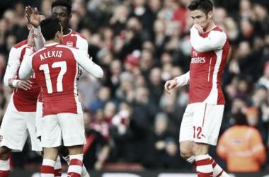 Arsenal 2-0 Middlesbrough: Giroud brace advances Arsenal to quarter-finals