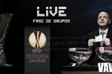 Resultado sorteo fase de grupos UEFA Europa League 2015/2016