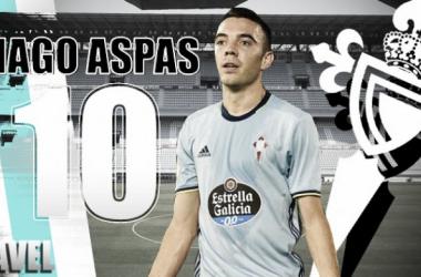 Anuario VAVEL Celta 2016: Iago Aspas, héroe sin capa