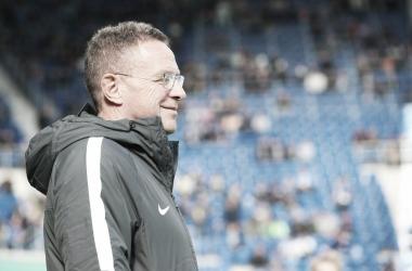 Treinador avaliou como positivo o desempenho do time (Foto:Divulgação / RB Leipzig)