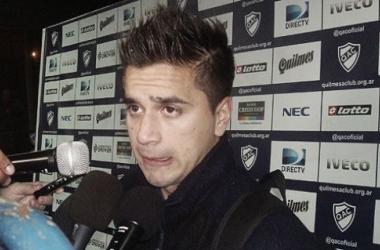Rodrigo Gómez (foto: Quilmes Oficial).