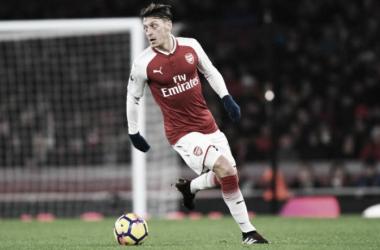 Vínculo de Özil com o Arsenal expira ao fim da temporada (Foto: Stuart MacFarlane/Arsenal FC)