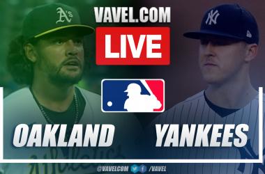 Highlights and Runs: Oakland Athletics 1-2 New York Yankees in MLB 2021