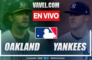 Resumen y carreras: Oakland Athletics 1-2 New York Yankees en MLB 2021