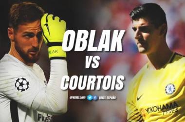 ¿Oblak o Courtois?
