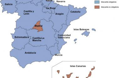 Canarias y Madrid no van a la moda