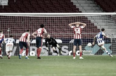 Oblak paró un penalti en el minuto 84. / Fuente: Atlético de Madrid