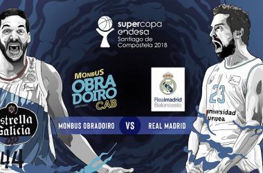 Obradoiro Monbus vs. Real Madrid | Foto: ACB.com
