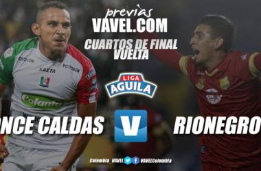 Previa Once Caldas vs Rionegro Águilas: los 'dorados' van por la hazaña a Manizales