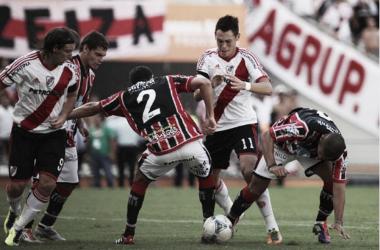 Ocampos fue la figura en el último duelo ante Chaca (Foto: La Nación).