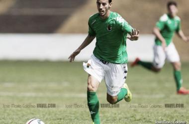 Álvaro Ocaña, goleador en el encuentro de hoy. FOTO: Jose Maria Colomo (VAVEL)