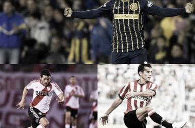 Entre Montoya, la obsesión; Solari, el regreso, y Mayada, con un pie afuera (Fotos: Olé y TyC Sports/Fotomontaje).