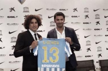 Guillermo Ochoa Signs Three-Year Deal at Málaga CF