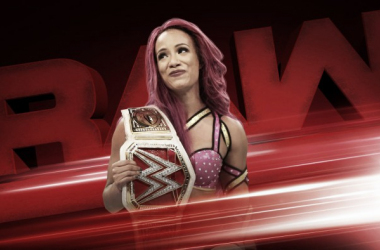 Sasha Banks is champion once again. Photo- WWE.com