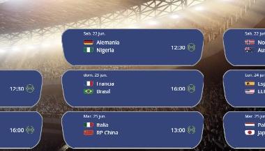 Cruces de octavos de final | Fuente: FIFA