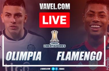 Goals and highlights: Olimpia 1-4 Flamengo in Quarterfinals of the Copa Libertadores 2021