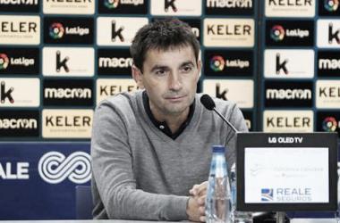 Garitano lamentó la derrota de la Real / Foto: Real Sociedad