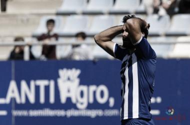 Imagen del último partido ganado por el Lorca FC. Fotografía: La Liga 123