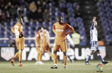 Deportivo - Málaga, puntuaciones del Málaga, jornada 31 de La Liga