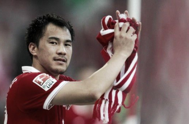 Borussia Mönchengladbach monitor Shinji Okazaki
