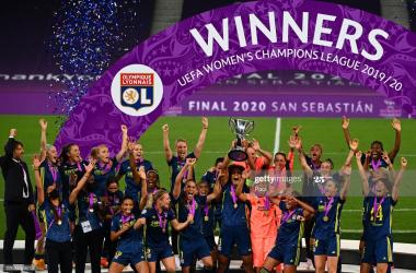 Lyon win seventh Champions League title over Wolfsburg
