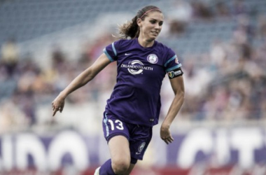 Fans will have to wait a little longer to see Alex Morgan back in an Orlando Pride jersey   Source: orlandocitysc.com