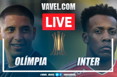Melhores momentos Olimpia x Inter pela Libertadores (0-0)