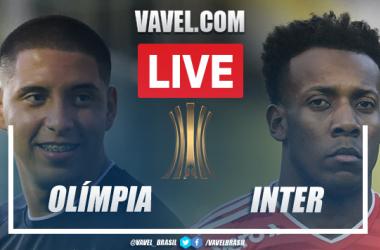 Gols e melhores momentos Olímpia x Inter pela Libertadores (0-1)