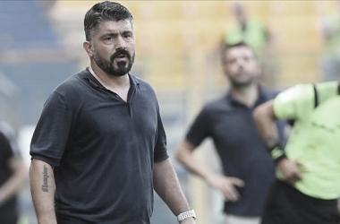 Gattuso lamenta falta de pontaria do Napoli após derrota para Parma