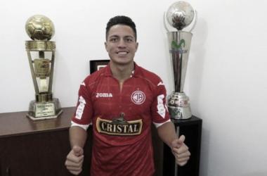 Olascuaga fue campeón nacional en 2013 con Universitario de Deportes. Foto: Prensa, Juan Aurich