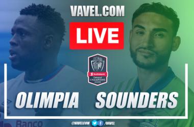 Resumen y goles: Olimpia 2-2 Seattle Sounders, en CONCACAF Liga de Campeones 2020