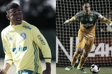 Ambos serão representantes do Palmeiras na Seleção (Fotos: Divulgação/ Ag, Palmeiras)
