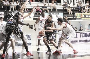 """Adrián Boccia es un jugador determinante en el """"Negro"""" Bandeño. Foto: gentileza de la Liga Nacional"""